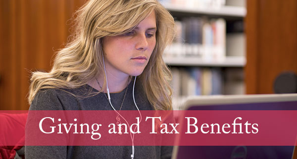 Giving and tax benefits